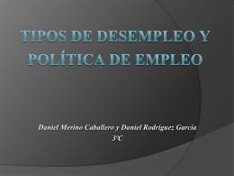 Tipos de desempleo y políticas de empleo