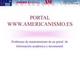 Sistemas de información científica en Internet: portales, revistas