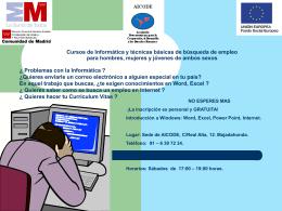 NOTICIAS/Cursos de Informatica