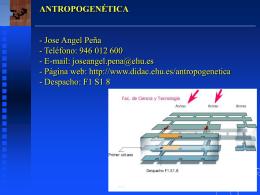 antropogenética
