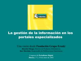 descargar ponencia - III Congreso de Periodismo Digital
