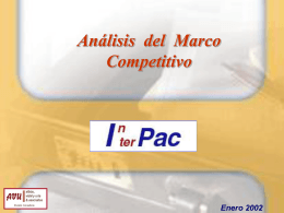 Marco Competitivo