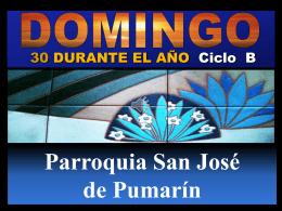 VAMOS A LA CASA DEL SEÑOR - Parroquia San José de Pumarín