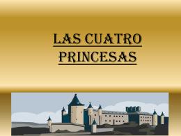 LAS CUATRO PRINCESAS