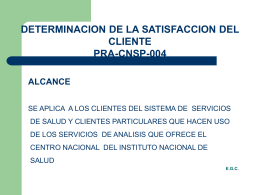 ppt1 - Instituto Nacional de Salud