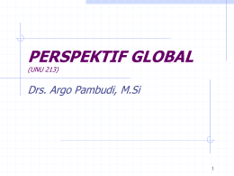 Perspektif Global - Staff Site Universitas Negeri Yogyakarta