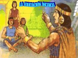 la educación incaica