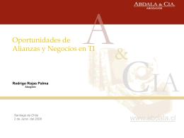 3. Propiedad Intelectual. Por Rodrigo Rojas