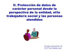 Responsable del fichero - Colegio Oficial de Trabajo Social de