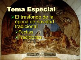 El trasfondo de la Navidad - Iglesia Bíblica Bautista de Aguadilla