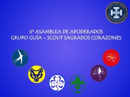 IIª ASAMBLEA DE APODERADOS GRUPO GUÍA – SCOUT