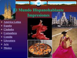 SPANISCH - Power Point Präsentation herunterladen