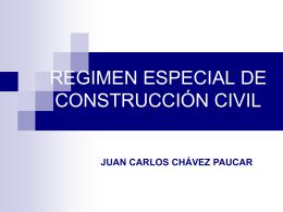CATEGORIAS DE TRABAJADORES DE CONSTRUCCION CIVIL