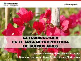 Desarrollo hortícola en el partido de Moreno