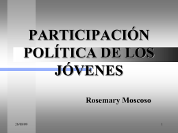 Rosemary Moscoso – Acción Popular