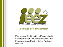 presentacion - Instituto Electoral del Estado de Zacatecas
