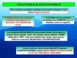 Countable/Uncountable 1