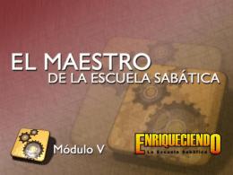 El Maestro de E. Sabática 2
