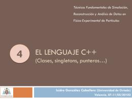 4 - C++ clases - Universidad de Oviedo