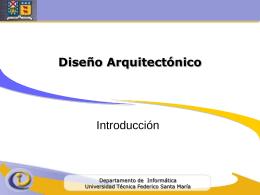 Estilos y patrones arquitectónicos - Ramos UTFSM