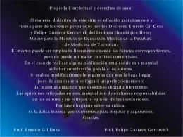 Etica de la prescripción médica - Instituto Oncológico Henry Moore