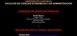 7.TEMA.REGIMEN POLITICO Y SOCIAL DEL ESTADO.CURSO