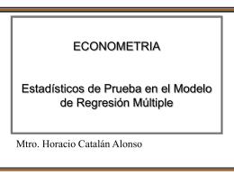 Taller de Econometría