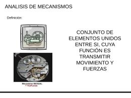 Clase mecanismos