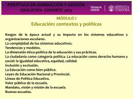 Presentación de PowerPoint - Igualdad y Calidad Educativa