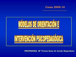 EL MODELO DE PROGRAMAS