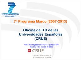 7º Programa Marco