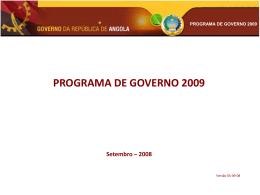 1 MB 11/07/2013 programa do governo 2009