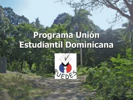 Programa de Unión Estudiantil Dominicana