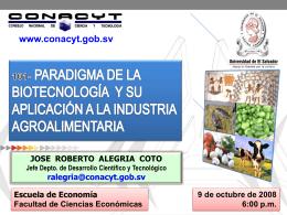 CRÍTICA SOCIAL A LOS OVMs - Consejo Nacional de Ciencia y