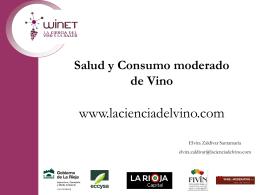 Diapositiva 1 - La Ciencia del vino y la Salud