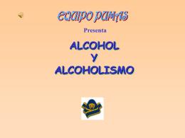 alcohólico ALCOHOLISMO