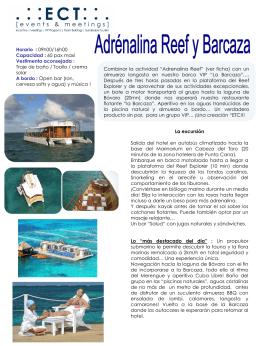 Adrenaline Reef & Barcaza