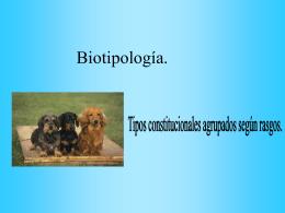 Biotipología. - Odontochile.cl