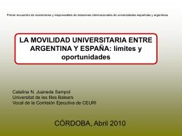 Catalina Juaneda - Red de Cooperación Internacional de