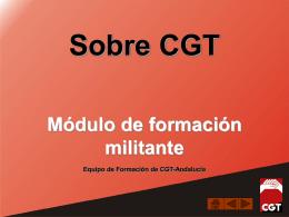 Presentación de PowerPoint - CGT Andalucia