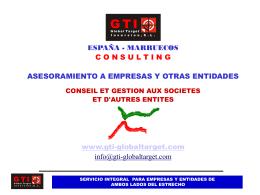 presentacion gti global consulting por emilio garcia