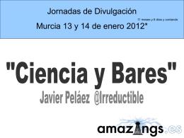 """""""Ciencia y Bares"""""""