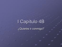 I Capítulo 4B
