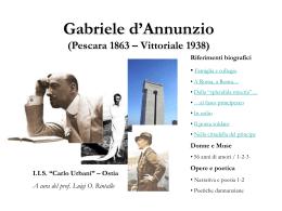 Gabriele D`Annunzio