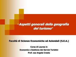 Capitolo 1 slide - Facoltà di Scienze Economiche ed Aziendali
