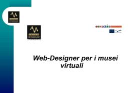 webdesigner per i musei virtuali