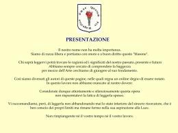 """Contenuti del sito de """"Il Viaggiatore"""""""
