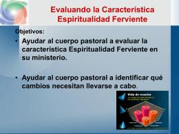 presentacion Espiritualidad Ferviente