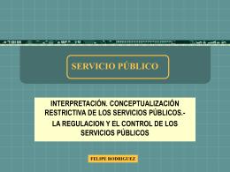 7 servicio público