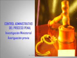 Ministerio Publico - Dr. Crosby González Montiel